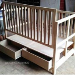 Adelle Baby Crib With 2 Storage