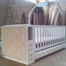 Baby Crib With Additional Storage