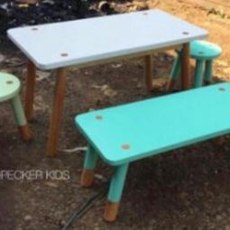 Scandinavian Kids Play Table